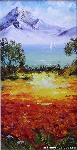 Картинки пейзажи нарисованные